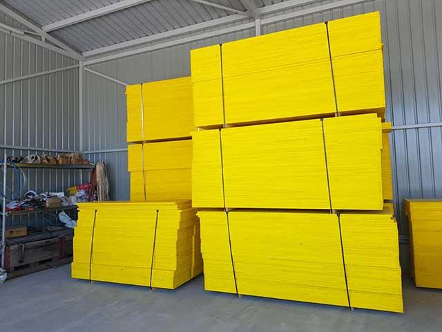 Žuta oplatna ploča - daska