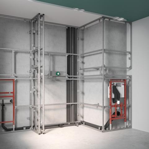 TECEprofil predzidni sistemi za vodoinstalacije