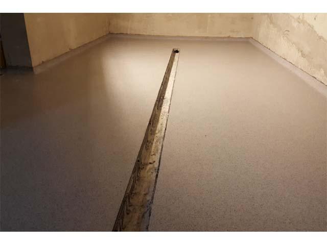 Privatna kuća, Zemun - tehnike: Sika Compact floor
