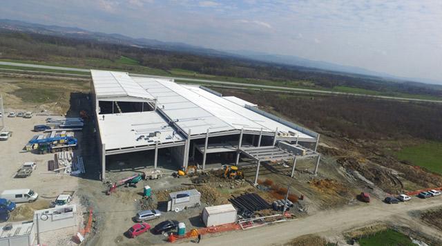 Poslovno-proizvodni kompleks - investitor: ELSTA MOSDORFER BOSNIA DOO TUZLA - AB konstrukcija, 9.800m², Živinice, BiH. 2018