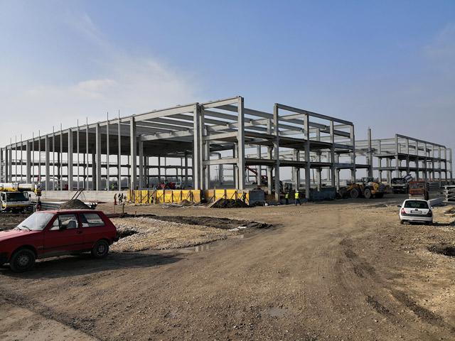 Proizvodni objekat - investitor: LA LINEA VERDE BEOGRAD - AB konstrukcija i građevinski radovi, 5.628m², Dobrinci, Srbija, 2017.