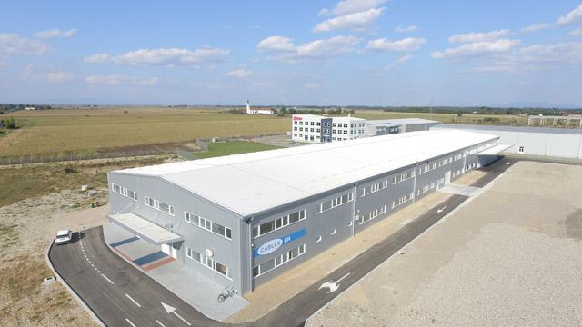 """Poslovni objekat - skladište - investitor: CABLEX BH  -""""Projektuj – Izgradi"""", 5.926m², Laktaši, 2013."""
