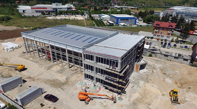 Poslovno-skladišni objekat - investitor: DHL SARAJEVO - AB konstrukcija, 2.501m², Sarajevo, 2017.