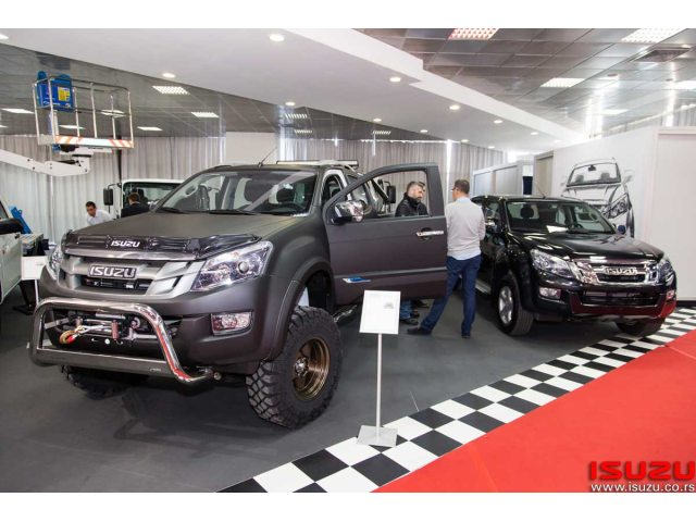 Isuzu D-MAX 4x4 Monster Truck