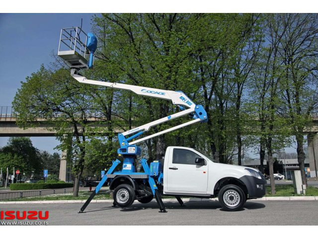 Isuzu D-MAX Single 4x2 Socage A314