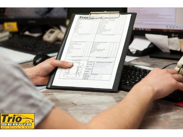 Detaljna check-lista vozila