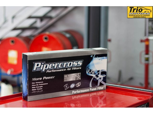 Pipercross aftermarket filter vazduha