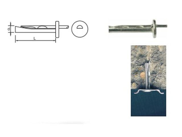 Ukucavajući anker - PGB POLSKA - dostupne dimenzija dxl (mm) - 6x35, 6x65