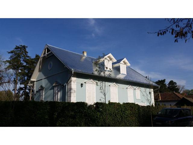 Pokrivanje krova sa pikejima - stambena kuća