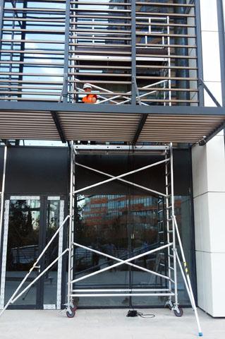 Profesionalna aluminijumska pokretna skela - radovi
