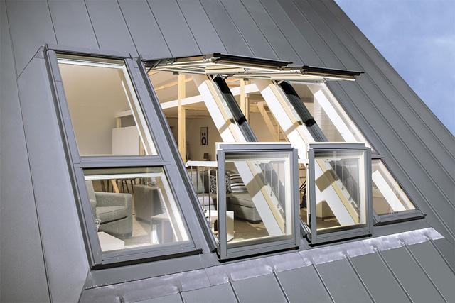 Krovni prozor-terasa
