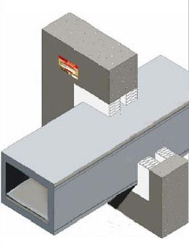 Pasivna zaštita od požara prodora ventilacionih kanala