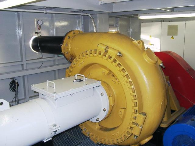 Jaka usisno/transportna pumpa za pesak i sitniji šljunak