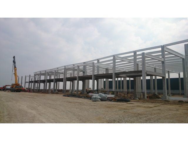 Izgradnja logističkog objekta