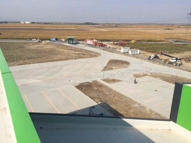 Saobraćajna infrastruktura u okviru logističkog centra