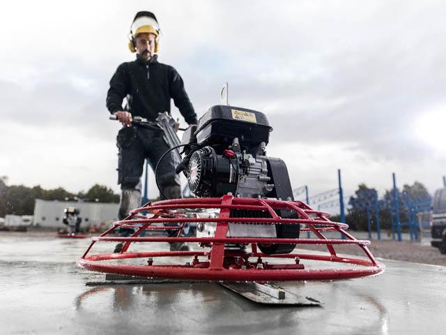 CP mašina za obradu betona