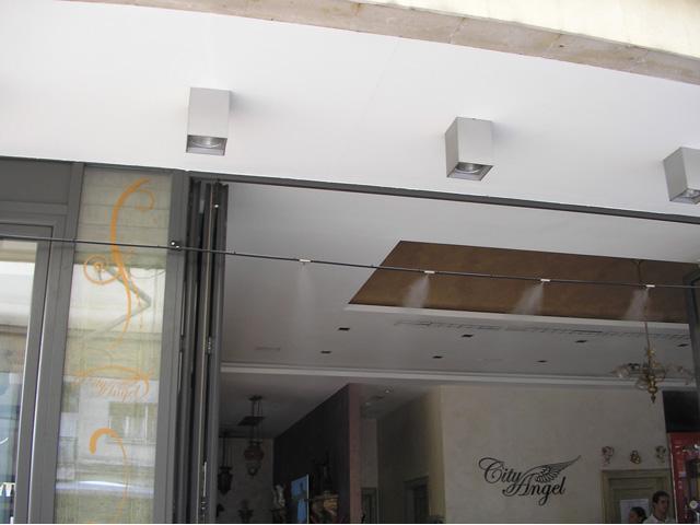 Sistem za hlađenje maglom - CITY Angel Beograd
