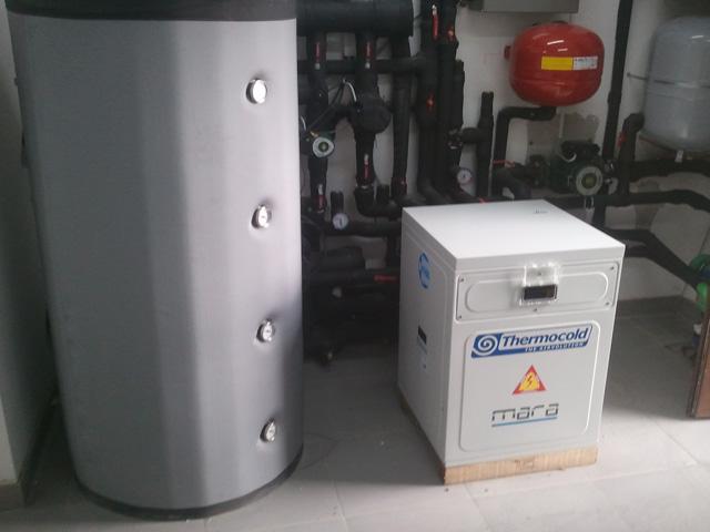 Multifunkcionalna  GEO toplotna pumpa - kuća u Borči