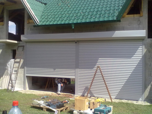 Izvođenje radova - Garažna vrata