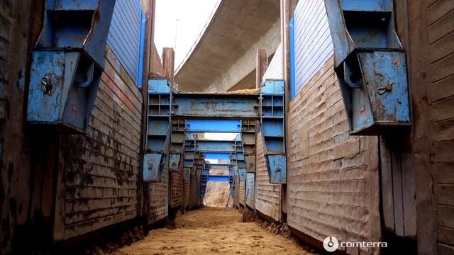 Izgradnja kolektora pomoću klizne oplate do 16m dubine i 12m širine