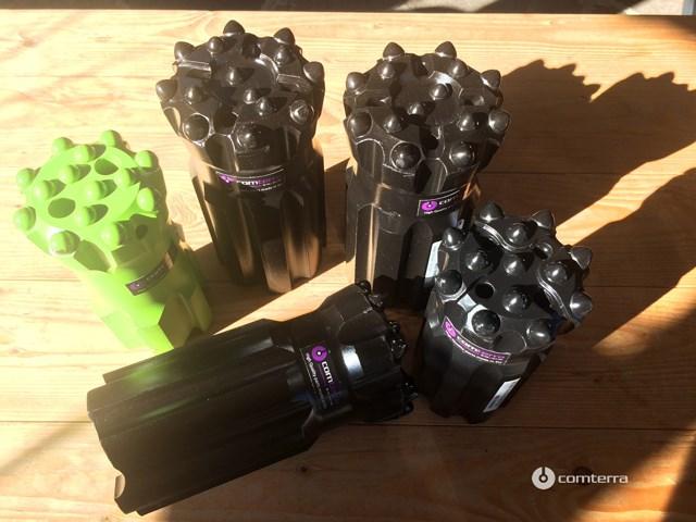 Bušaći pribor (bušaće krune, šipke T38, T45, T51, GT60) i oprema za kamenolome, kopove