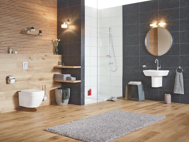 GROHE Euro Linija - Ako volite meke zaobljene oblike, a od svog kupatila očekujete opuštajući wellness ugođaj, birajte GROHE Euro liniju. Ona će pretvoriti mala i velika kupatila u inovativne dizajnerske prostore, čak i za one estetski najzahtevnije.