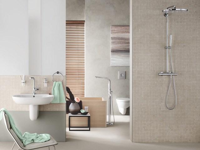 Essence Linija - Za ljude koje privlače čiste, jednostavne, oku privlačne linije, GROHE Essence donosi nenametljivu estetiku.