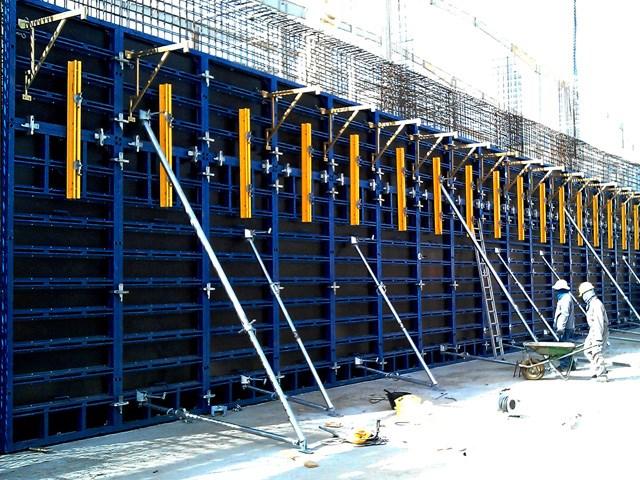 VARIMAX SISTEM - DOKA FRAMAX KOMPATIBILNO - VARIMAX sistem je prikladan za oblaganje: većih i manjih zidova, temelja i stupova i stubova.