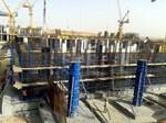 KRUŽNI STUBOVI SK100 - Elementi kružnih stupova SK 100 namenjeni su za gradnju kružnih stupova promera 300mm, 400mm, 500mm, 600mm, 700mm, 800mm, 900mm, 1000mm, 1100mm, 1200mm. Moguće ih je jednostavno pričvrstiti na elemente okvirne oplate, kod izgradnje stupova s polukružnim nastavkom.