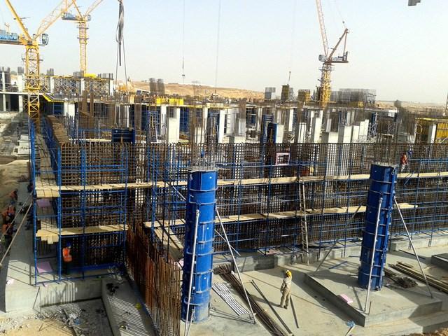 RINGFORM - KRUŽNA OPLATA - Ringform oplata za glatke kružne zidove beskonačno varijabilnih polumera od 3,5 m.To je savršen izbor za gradnju okruglih rezervoara, postrojenja za obradu, silosa, ulaznih rampi parkinga na više spratova i svih okruglih struktura, koje zahtevaju različite polumere.