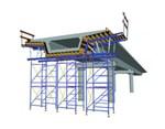 POTPORNE SKELE, TOP TOWER 60 - Ima područje široke primene od oplaćivanja velikih zidnih površina, uključujući izradu obložnih betonskih površina, pri oplaćivanju standardnih građevinskih objekata, kao ekonomski razumnih varijanti te u inženjeringu mostova i prilagođavanju različitim monolitnim konstrukcijskim oblicima.