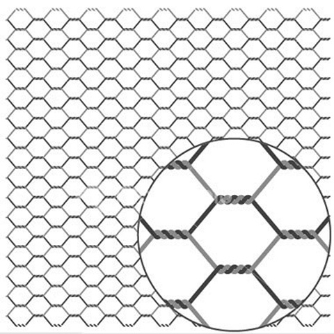 Heksagonalno (merkur) pletivo