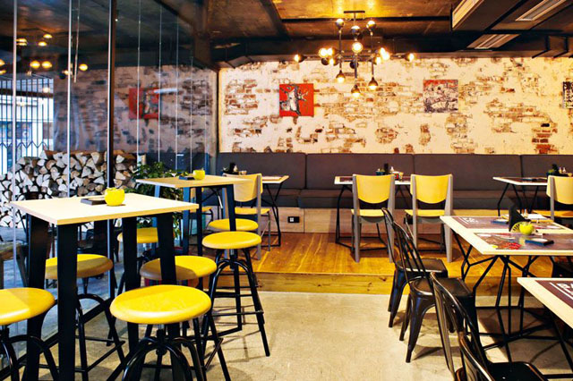 Restoran Balkon, Balkanska ulica, Beograd