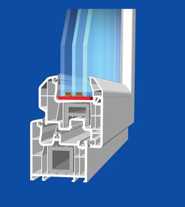 Wintech 777 profil - Vodeći brend PVC profila, odlikuje se visokim kvalitetom, a posebno se izdvaja Penwood profil bez ojačanja.