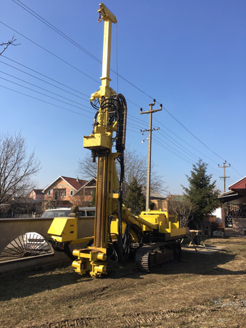 Atlas Copco drilling machine - Atlas Copco mašina za bušenje