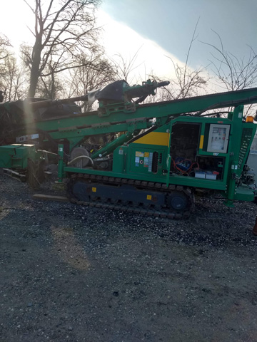 Comacchio drilling machine - Comacchio mašina za bušenje