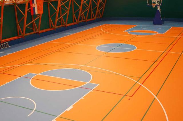 Taraflex sportski pod – Gerflor, Francuska - Sportska sala, Kragujevac, 2009.