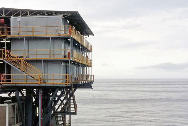 Smeštaj za zaposlene na naftnoj platformi, Pointe Noire