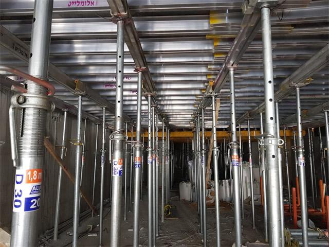 POST&BEAM - sistem podupirača sa aluminijumskim gredama