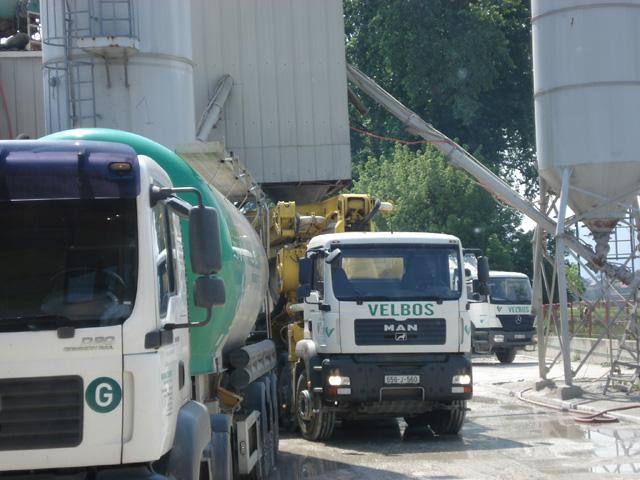 Fabrika betona Velbos,Ilidža
