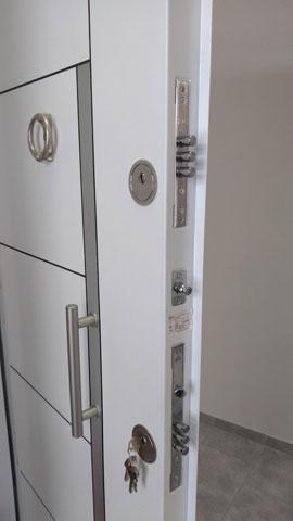 Vrata - hrom laminox bela