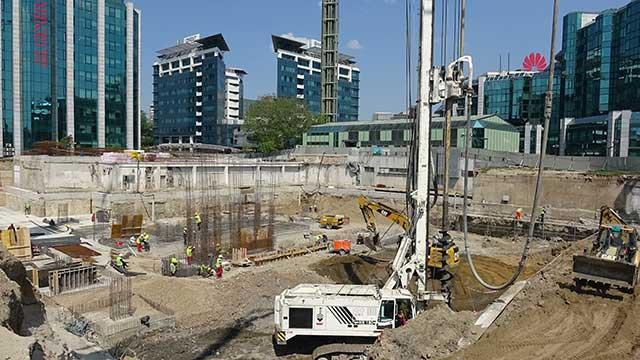 Delta HQ, Novi Beograd - poslovni objekat - hidroizolacija podzemnih delova