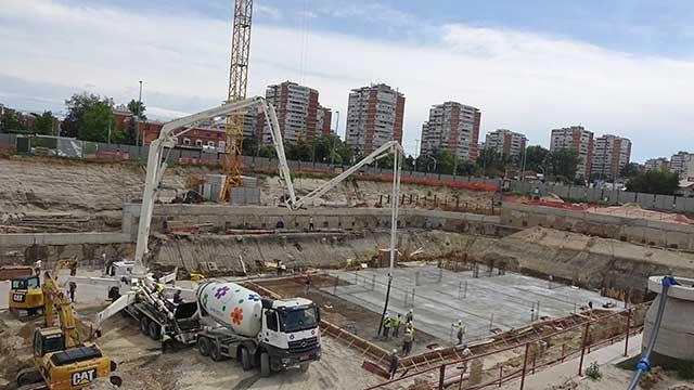 Petica GSD, Novi Beograd - stambeni objekat - hidroizolacija podzemnih delova