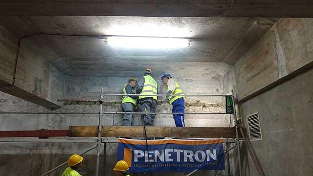 Hidroelektrana - injektiranje - Penetron Inject