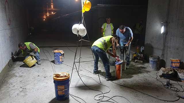 Podzemna garaža - sanacija prodora vode