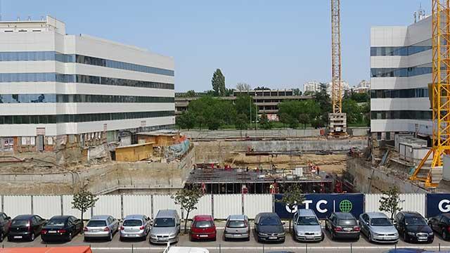 Green Heart, Novi Beograd - poslovni objekat - hidroizolacija podzemnih delova