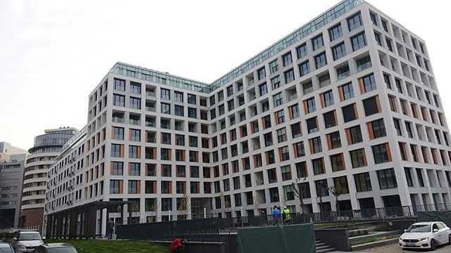 Park 11, Novi Beograd - stambeni objekat