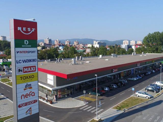 RC Nest Kraljevo 2, površina 6.292m² - 2020. god.