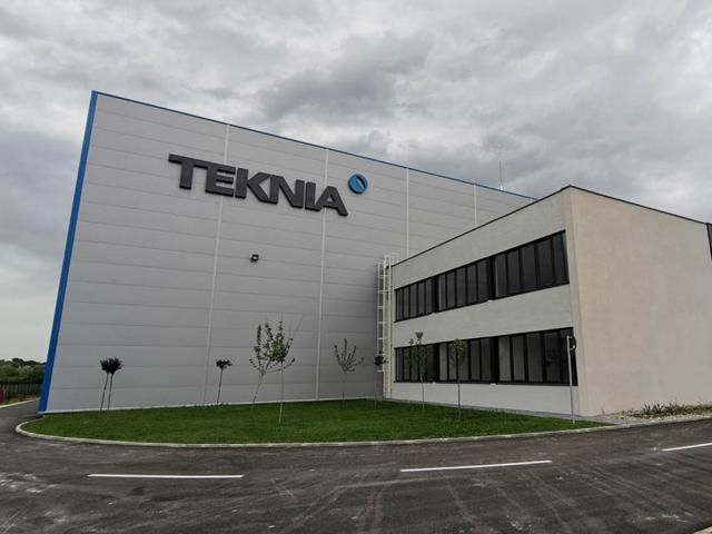 Teknia Kragujevac, površina 5.000 m² 2019. god.