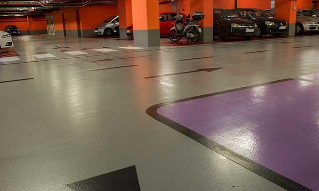 Garažni podni sistemi - elastični, premium garažni podni sistem MasterSeal Traffic 2255, debljine 3mm, u skladu sa standardom DIN V18026, klasa OS13, za premošćavanje pukotina iz podloge